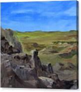 Hunters Overlook Badlands South Dakota Canvas Print
