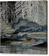Iced View Canvas Print