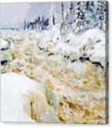 Imatra In Winter  Canvas Print