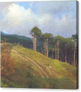 In The Crimean Mountains   Canvas Print