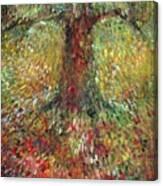 Invisible Tree Canvas Print
