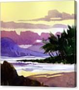 Ko Olina Sunset Canvas Print