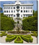 Lake Como,villa Carlotta, Italy Canvas Print