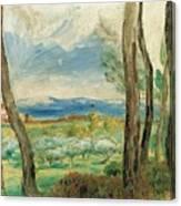 Landscape Mediterranean Canvas Print