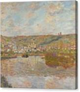 Late Afternoon Vetheuil Canvas Print