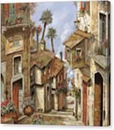 Le Palme Sul Tetto Canvas Print