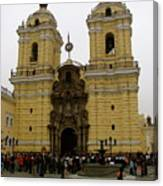 Lima Peru Church Canvas Print