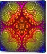 Mandala For Awakening The Creative Energy Canvas Print