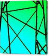 Metal Frame Abstract Canvas Print