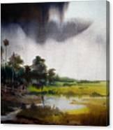 Monsoon Village  Canvas Print