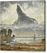Mount Stetind Canvas Print