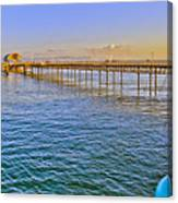 Mumbles Pier And Lifeboat Station Canvas Print