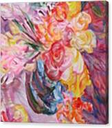 My Bouquet Canvas Print