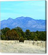 New Mexico Mountains Canvas Print