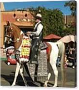 Perfect Cowboy Rider Canvas Print
