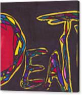 Pillar Of Death Canvas Print