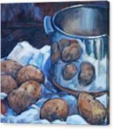 Pomme De Terre Canvas Print