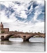 Ponte Alla Carraia, Firenze Canvas Print