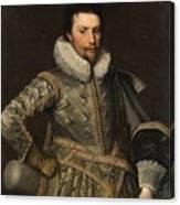 Portrait Of A Nobleman Canvas Print