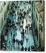Promenade In Dubrovnik Canvas Print