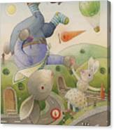 Rabbit Marcus The Great 05 Canvas Print