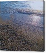 Refreshing Surf Canvas Print