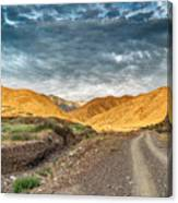 Road In The Mountains Canvas Print