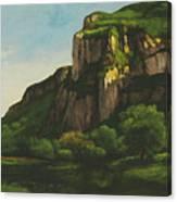 Rocks At Mouthier Canvas Print