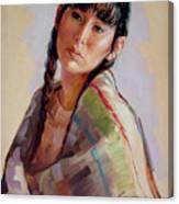 Sacajawea   Study Canvas Print