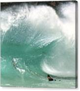 Sandy Beach Shorebreak Canvas Print