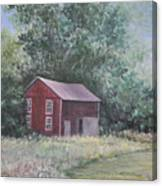 Shortys Shed Canvas Print