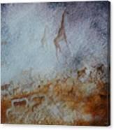 South African  Pertroglyph Canvas Print