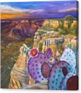 South Rim Wonders Canvas Print