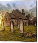 St Oswald At Sundown Canvas Print