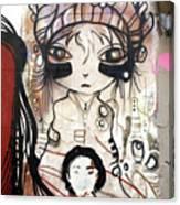 Strange Girl Canvas Print