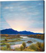 Swan Valley Sunrise Canvas Print