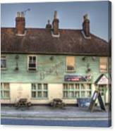 The Bricklayers Arms New Hythe Canvas Print