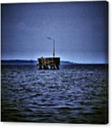 The Dock Of Loneliness Canvas Print