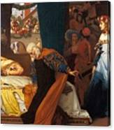 The Feigned Death Of Juliet  Canvas Print