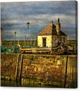 The Harbour At Maryport Canvas Print