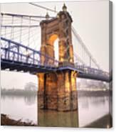 The Roebling Bridge Canvas Print