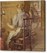 The Spinning Wheel  Canvas Print