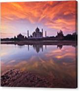 .: The Taj :. Canvas Print