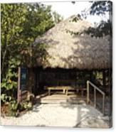 Tiki Hut  Canvas Print
