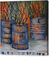 Tins Canvas Print