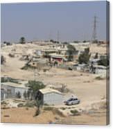 Unrecognized, Beduin Shanty Township  Canvas Print