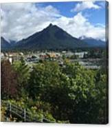 View From Top Of Castle Hill Sitka Alaska 2015 Canvas Print