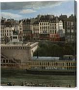 View Of The Seine Canvas Print