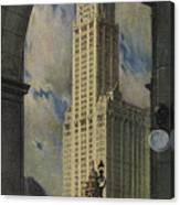 View Of The Woolworth Building Canvas Print