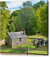 Village Blacksmith Shop Canvas Print